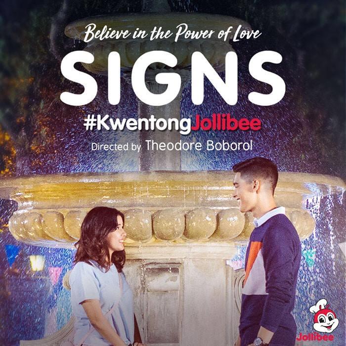 Kwentong Jollibee Signs
