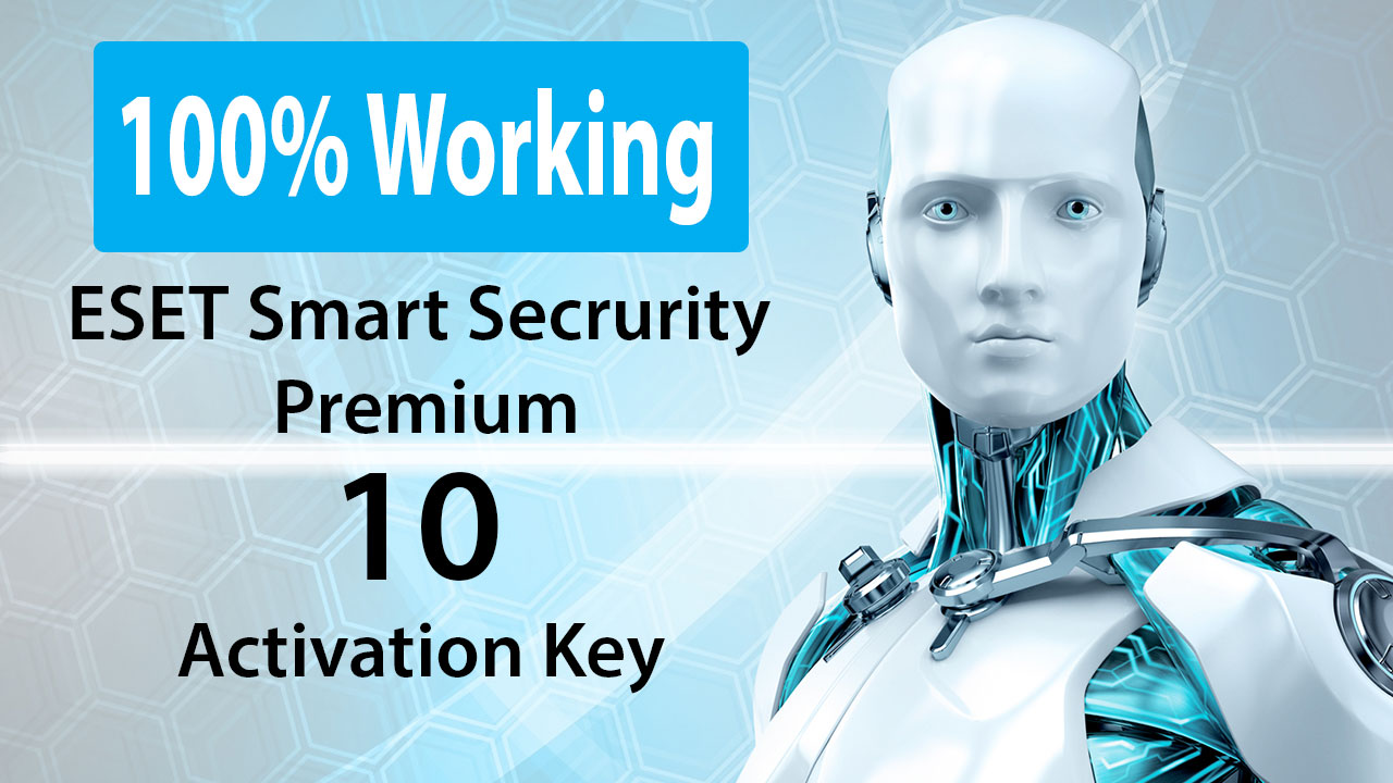 How to activate ESET Smart Security Premium 10 with Video ...