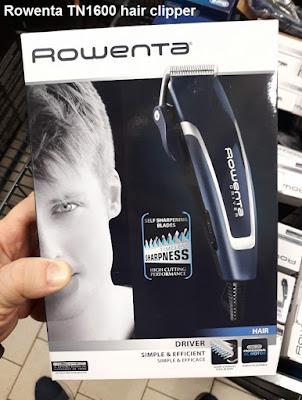 Rowenta TN1600 hair clipper review