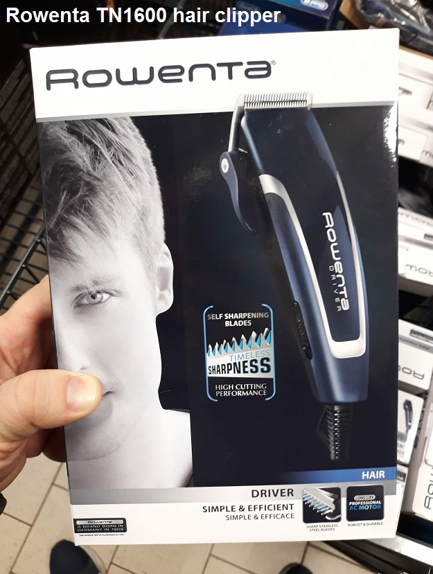 Rowenta TN1600 hair clipper