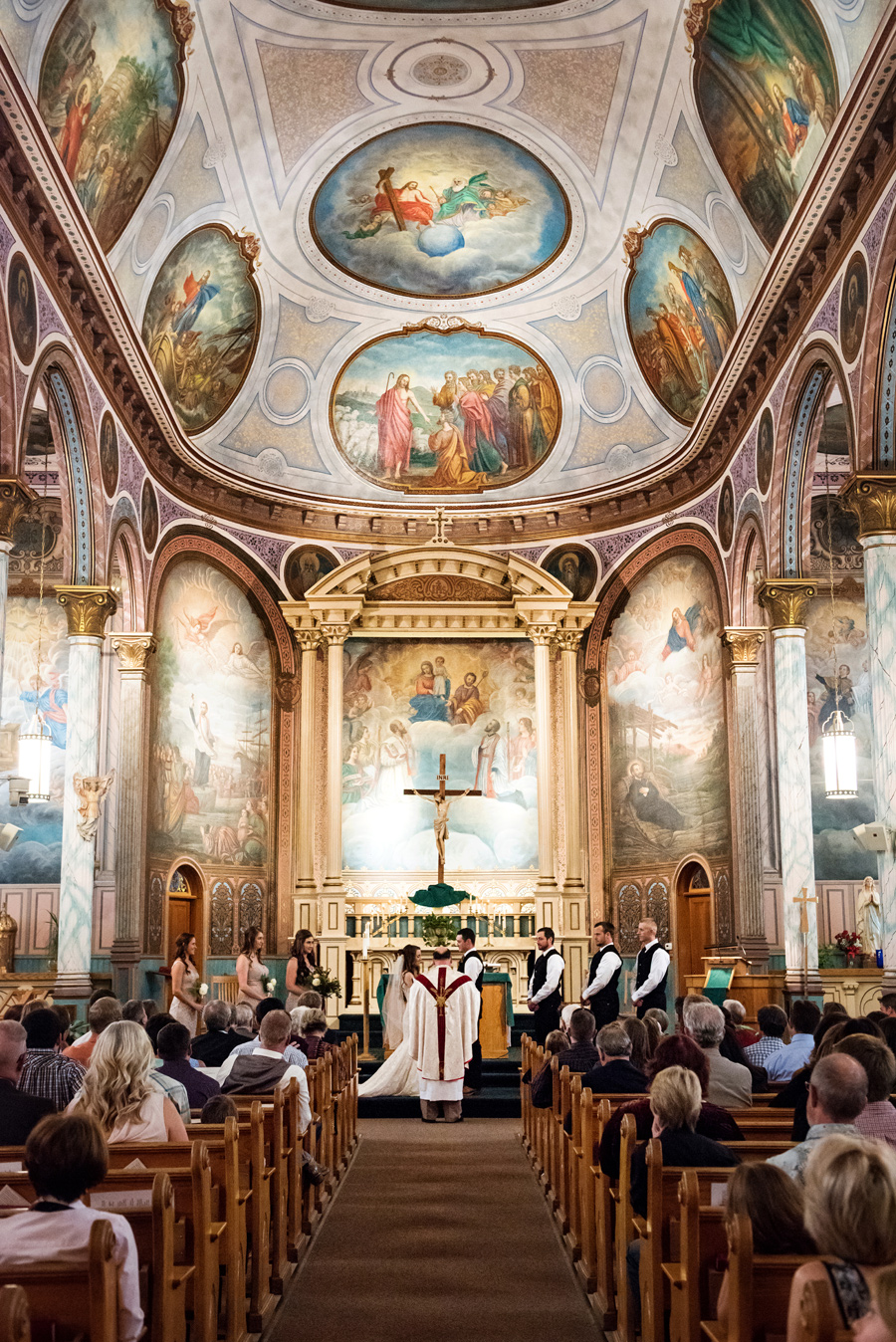 Montana / Church Wedding / Cali Frankovic Photography