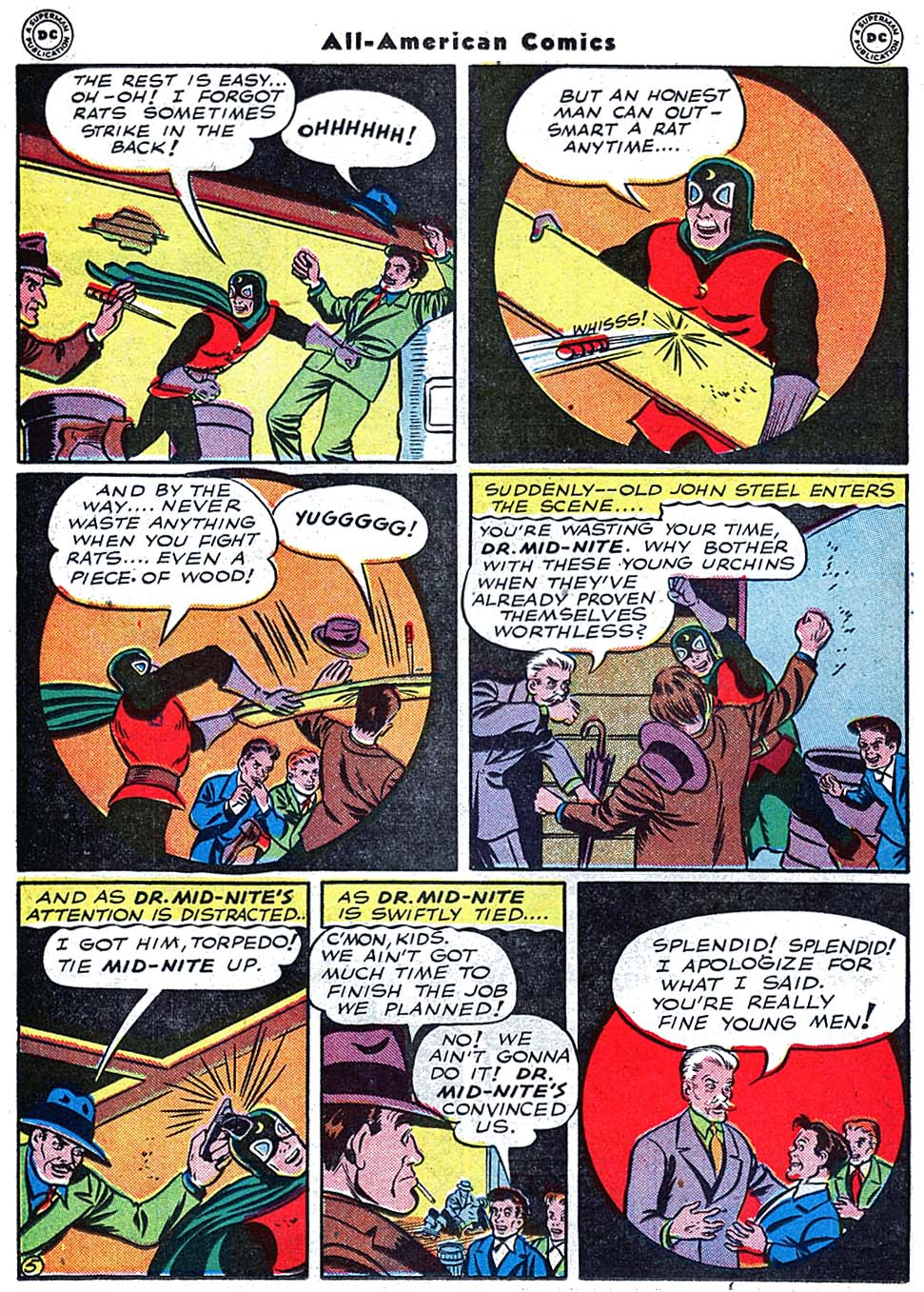 Read online All-American Comics (1939) comic -  Issue #72 - 22