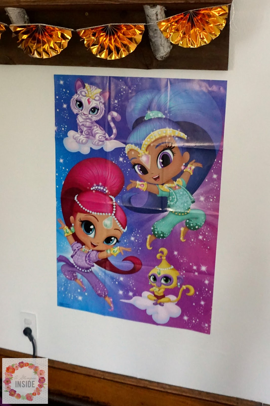 Miss S S Shimmer And Shine 4th Birthday Party A Glimpse