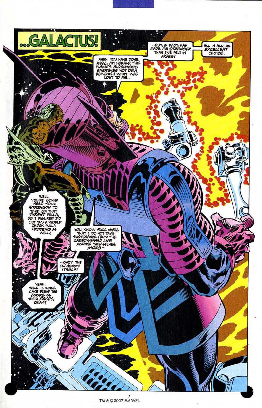 Read online Silver Surfer (1987) comic -  Issue #106 - 9