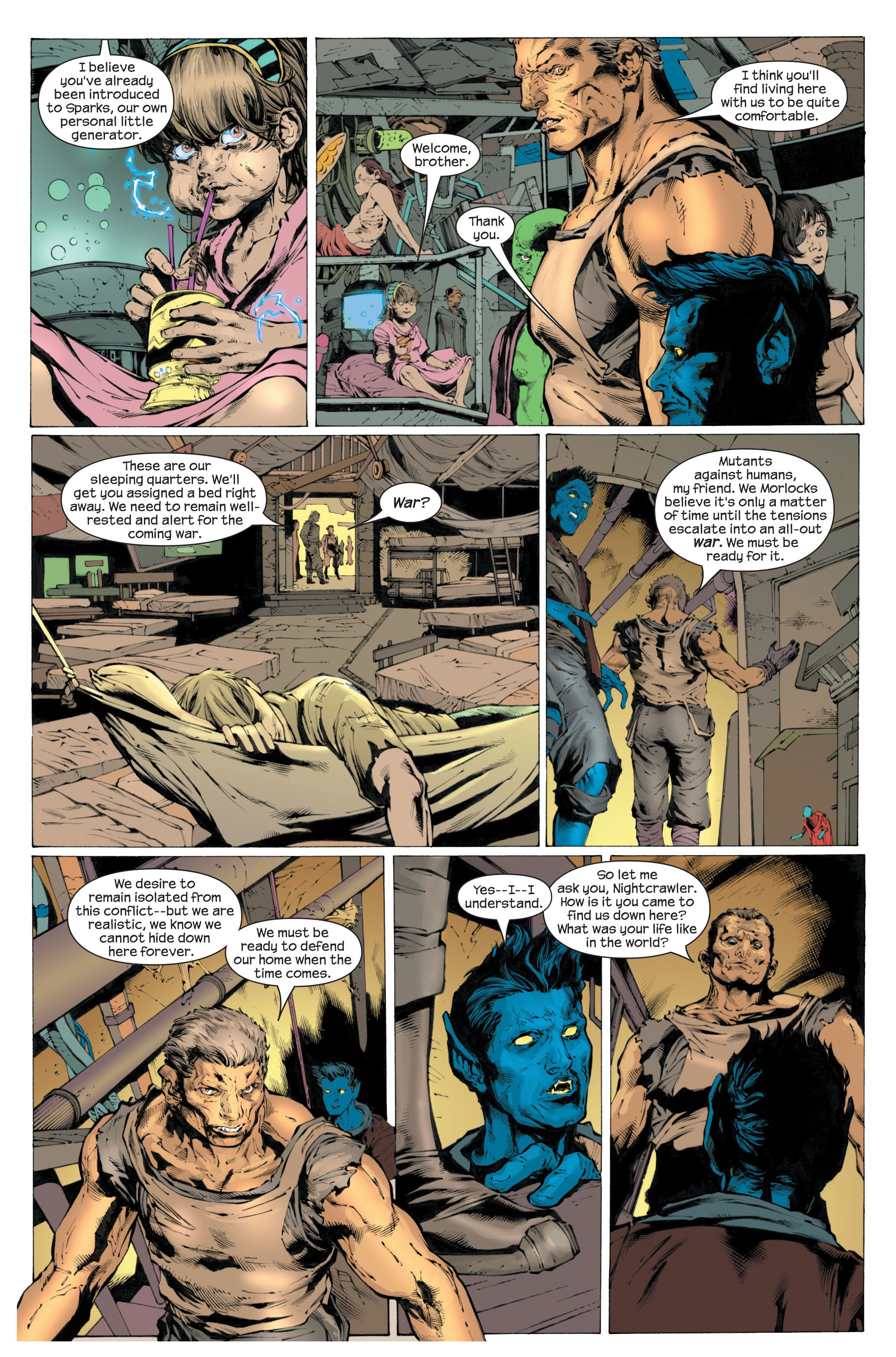 Read online Ultimate X-Men comic -  Issue #82 - 13