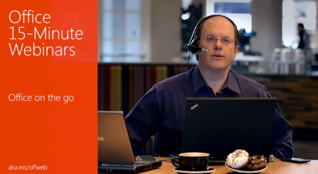 Office Webinar - How To Present And Share Docs On The Go