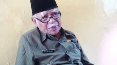 Kena Gusur, Kakek Ilyas: Dulu saya Melawan Penjajah, Sekarang ko seperti Dijajah Bangsa Sendiri Ya