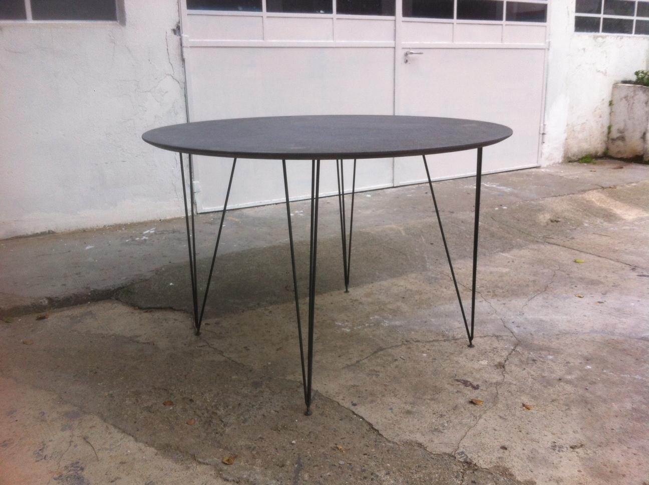 Officine catena tavolo rotondo diametro 120 cm for Tavolo rotondo 120 cm