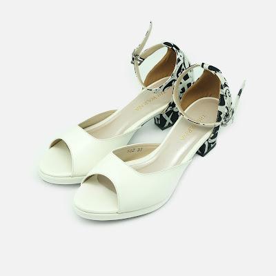 Block Putih The Warna Shoes