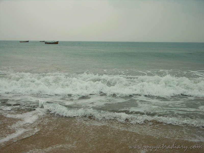 Ghost town beach from Dhanushkodi, Rameswaram