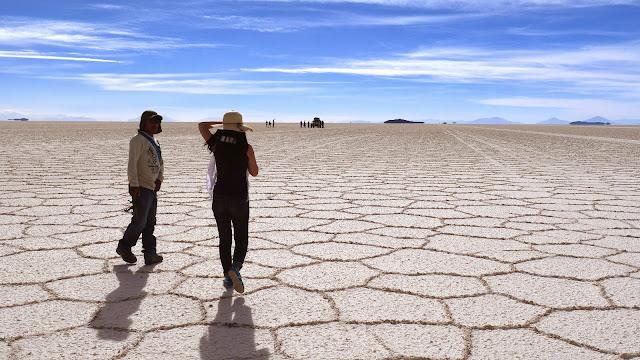 Red Planet at Salar de Uyuni, Bolivia