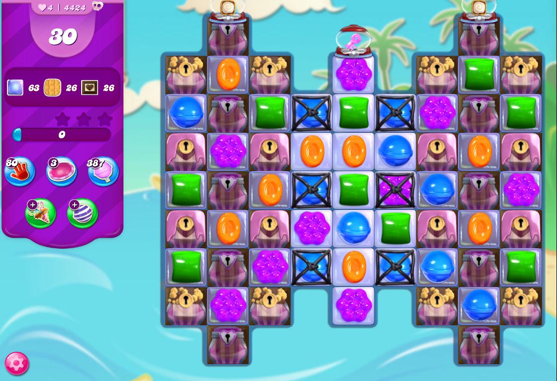 Candy Crush Saga level 4424