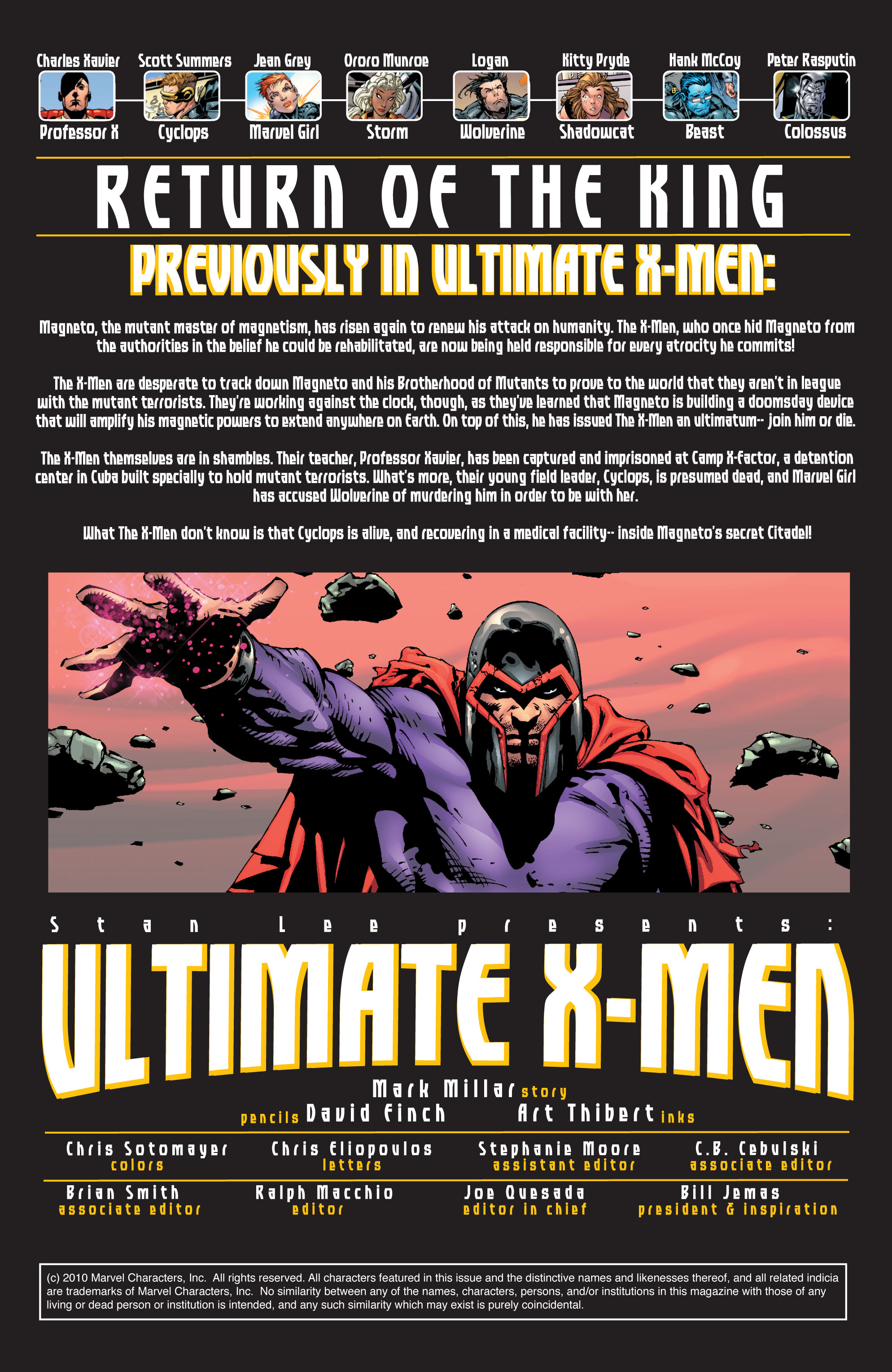 Read online Ultimate X-Men comic -  Issue #30 - 2
