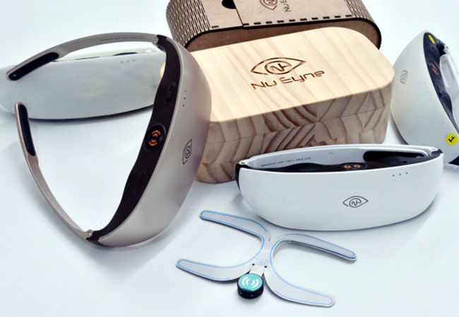 Tinuku Nu Eyne develops eye wearable to heal dry eye syndrome
