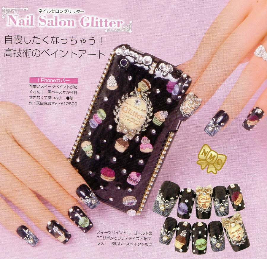 May nail inspiration, Japanese nail art and decoden | Dizzy Miss Lizzi