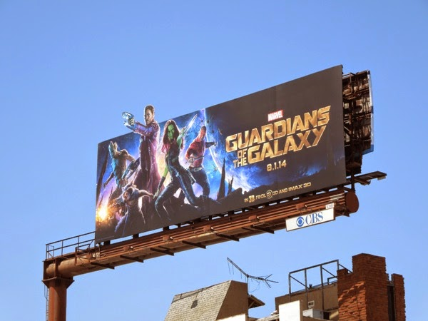 Guardians of the Galaxy special extension billboard