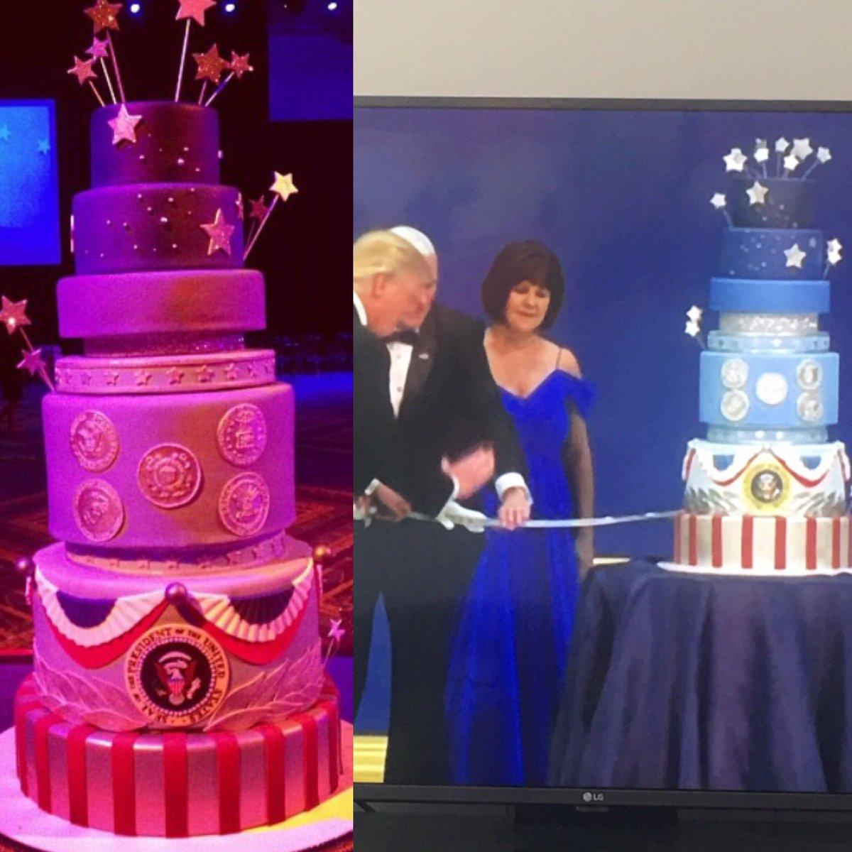 Cadboard Cake Inauguration