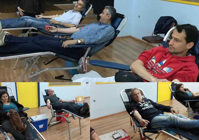 Η εθελοντική αιμοδοσία του Συλλόγου Εκπαιδευτικών Πρωτοβάθμιας Εκπαίδευσης Θεσπρωτίας