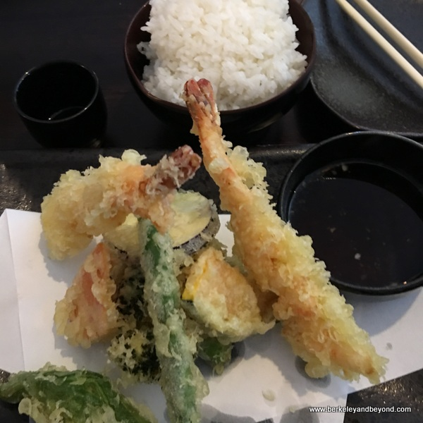 tempura at Uoyakutei Japanese Restaurant at Rockaway Beach in Pacifica, California