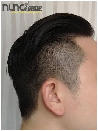 Pemakaian Pomade Murrays Hair Styling atau Minyak Rambut Super Ligh