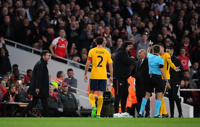 Simeone nhận án phạt cực nặng từ UEFA