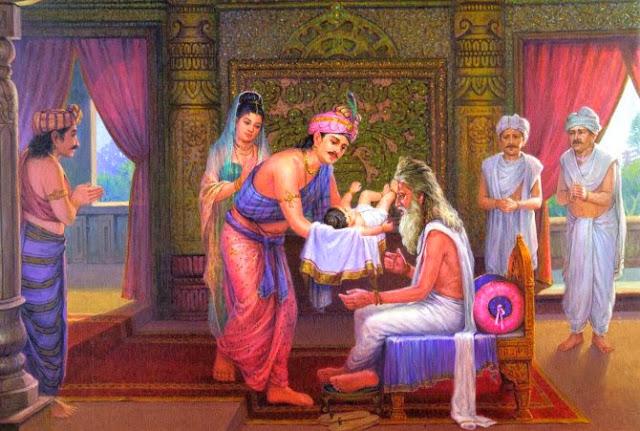 Đạo Phật Nguyên Thủy - Đường Xưa Mây Trắng - Chương 06: Bóng mát cây hồng táo - gặp đạo sĩ Asita