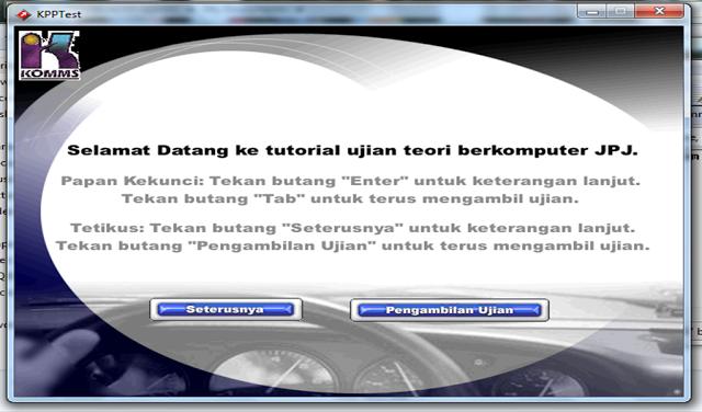 Download Aplikasi Ujian Teori Berkomputer Jpj Kpp Test New Version Download Aplikasi Ujian Teori Berkomputer Jpj Kpp Test New Version