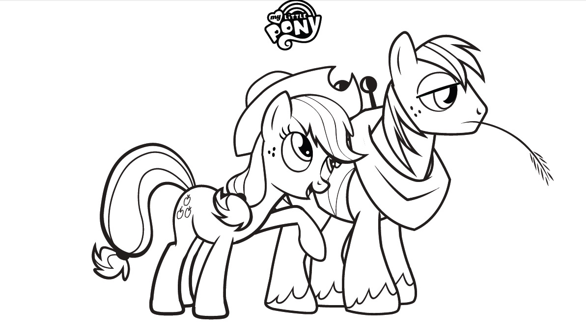 my little ponys coloring pages - photo #32
