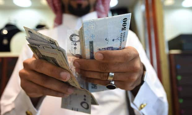 MONTHLY AVERAGE SALARIES OF EXPATS & SAUDI CITIZENS
