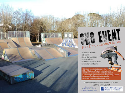 St Ives Cornwall - Skatepark Project
