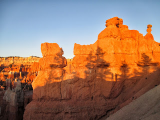 Bryce Canyon National Park, shadows