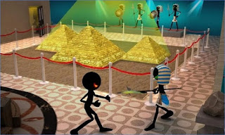 Game Stickman Museum Robbery Escape Apk