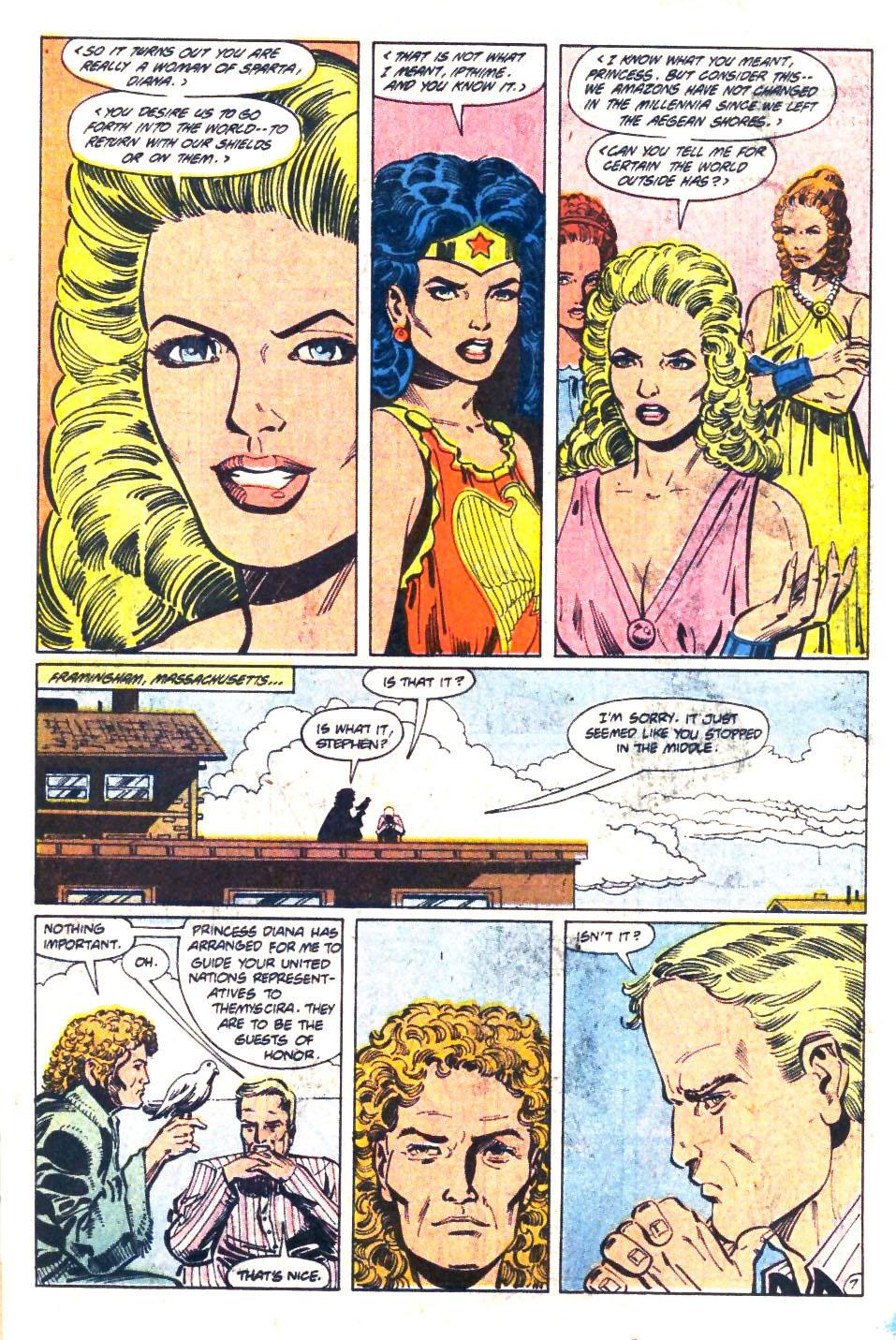 Read online Wonder Woman (1987) comic -  Issue #36 - 8