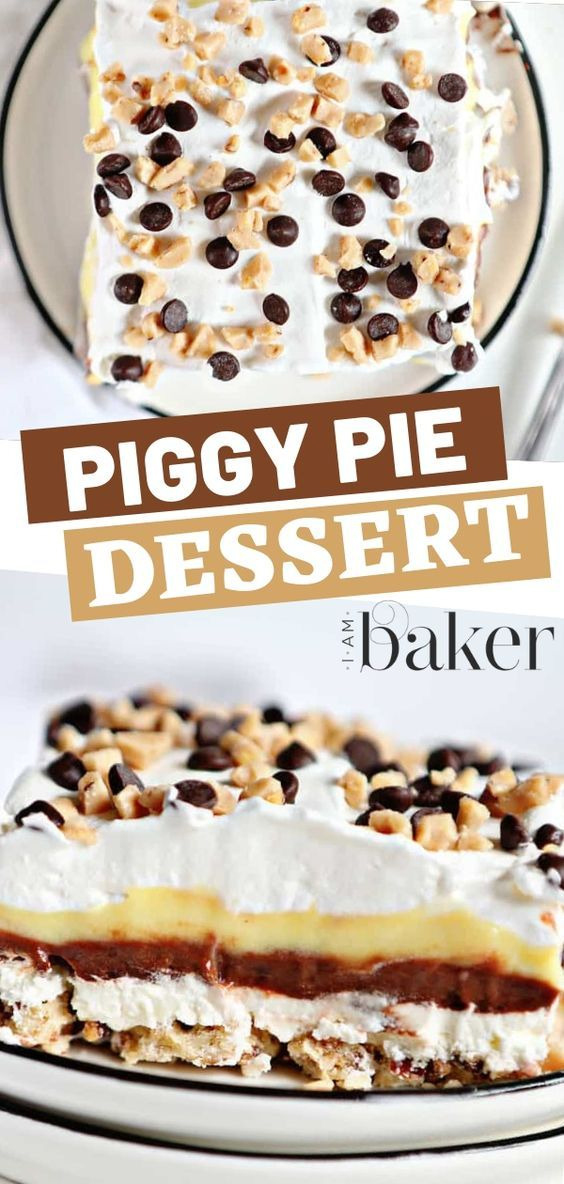Piggy Pie Dessert Recipe