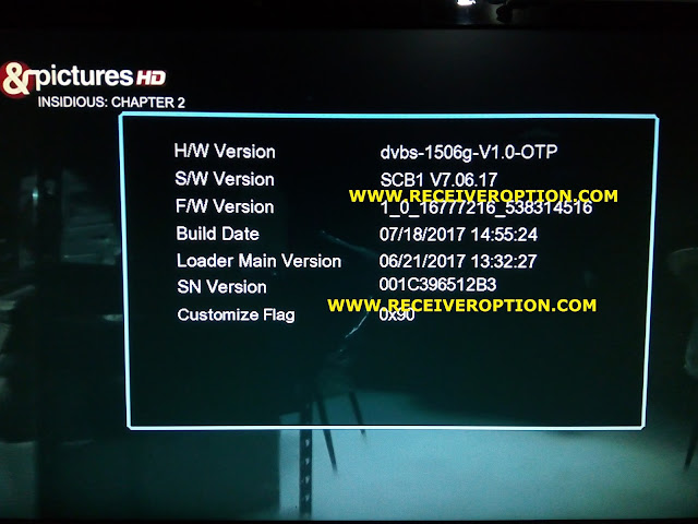 ALL MULTI MEDIA 1506G HD RECEIVER DSCAM NEW SOFTWARE