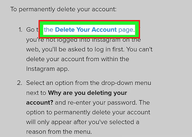 How to permanently delete your Instagram account ( full Guide )