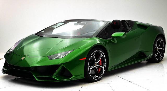 new-2020-Lamborghini-Huracan-EVO-Spyder-green