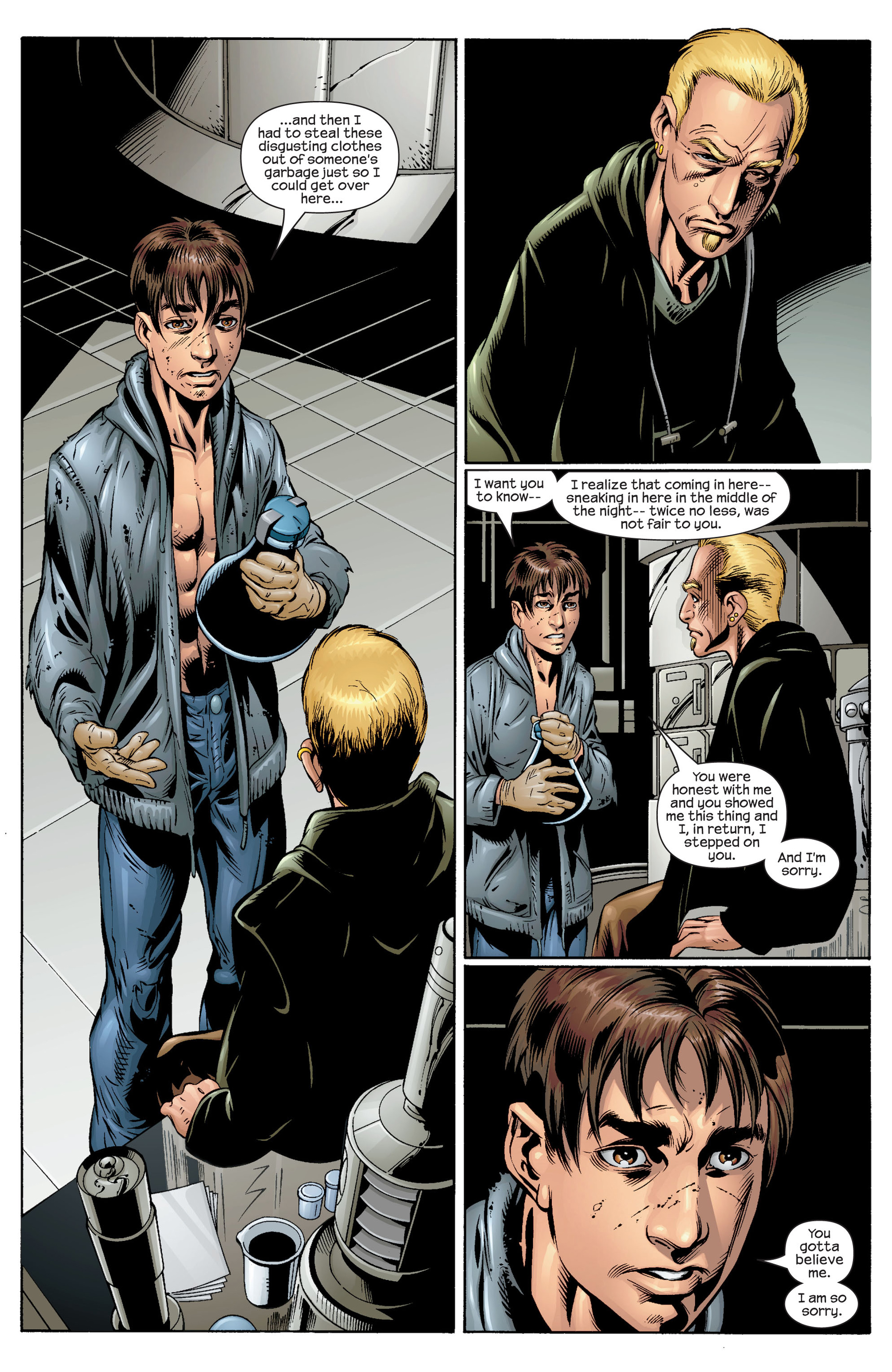 Read online Ultimate Spider-Man (2000) comic -  Issue #36 - 11