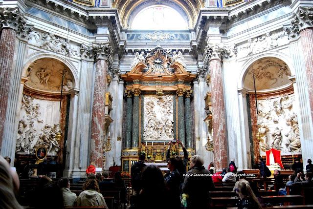 Kościół świętej Agnieszki w Rzymie na Piazza Navona