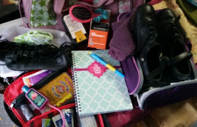 dance bag contents