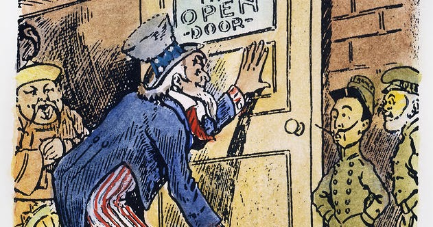 Quater 3 Project: American Imperialism Through Political Cartoons: Open  Door Policy