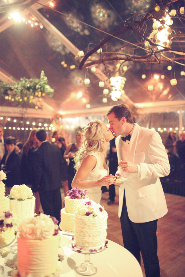 Rustic+classic+traditional+black+tie+platinum+wedding+bride+groom+rowing+country+club+purple+modern+succulents+succulent+centerpieces+lighting+lights+Gideon+Photography+28 - Black Tie & Cowboy Boots Required