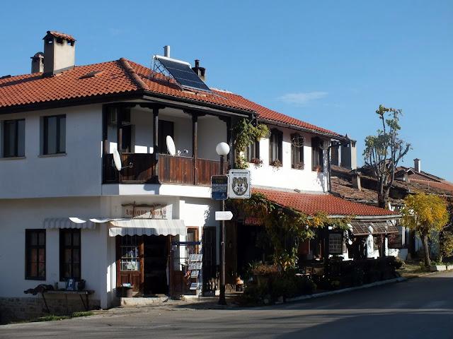 Pueblo de Arbanasi en Bulgaria