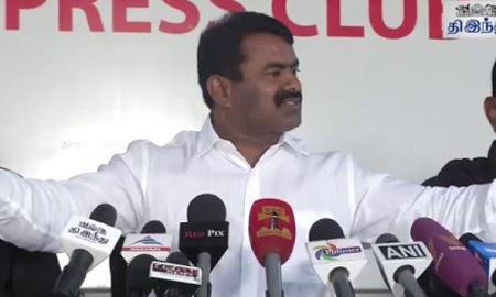 Seeman's Aggressive Speech on Jallikattu Issue