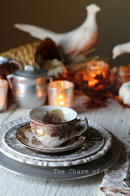 Thanksgiving Tea Table: The Charm of Home