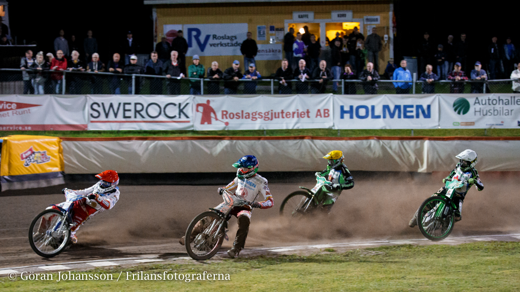 Speedwayseger for bajen