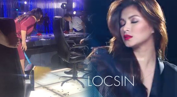 Spotted: Angel Locsin sweeping the Pilipinas Got Talent floor