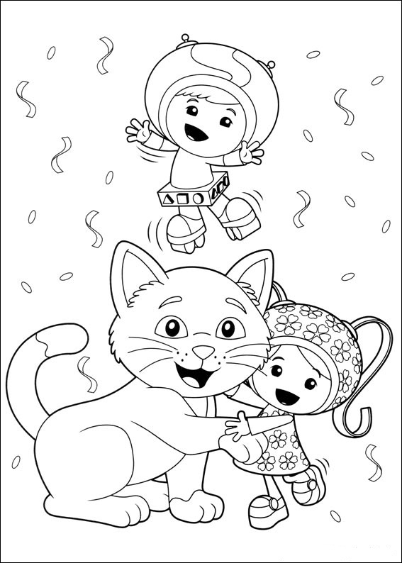 reese omi zoomi coloring pages - photo#7
