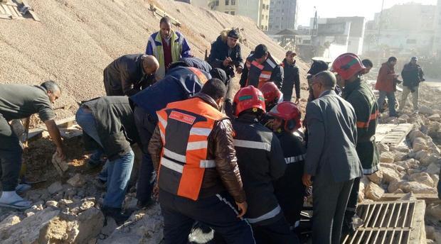 تلاميذ من بين الضحايا في انهيار سور بالدار البيضاء