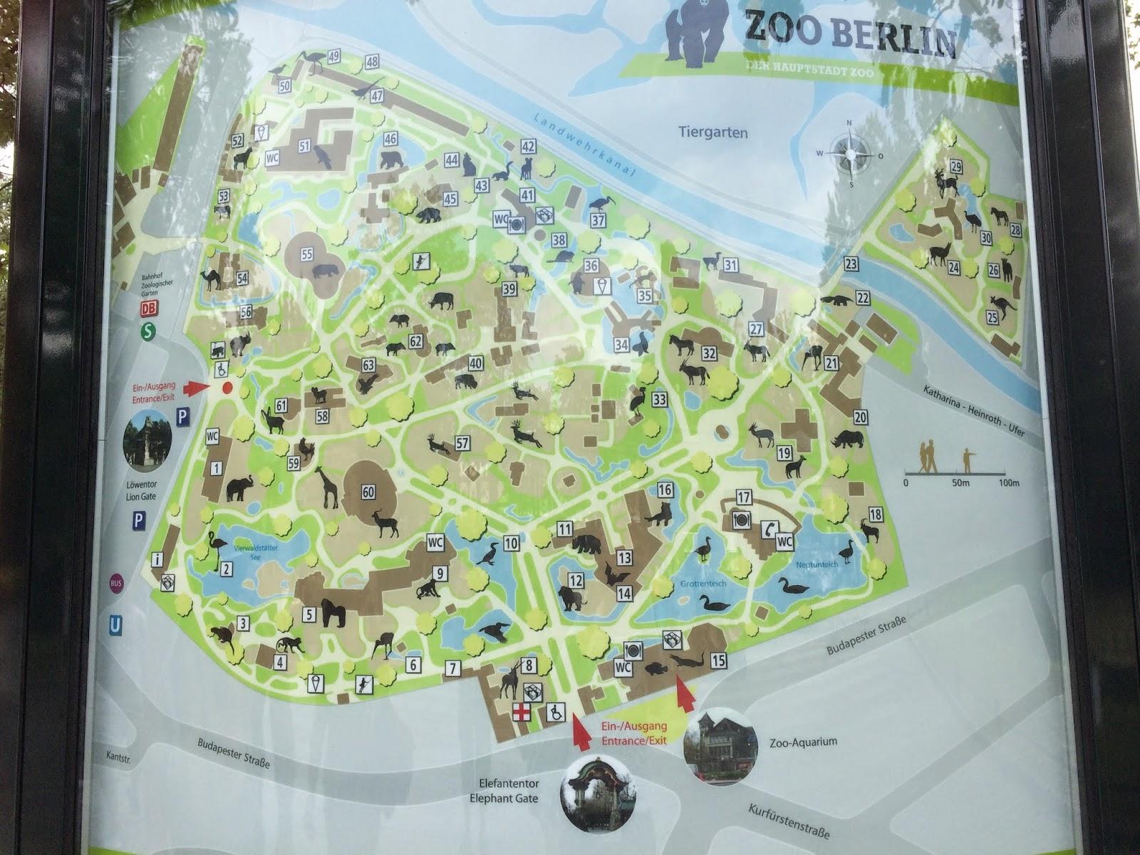 Berlin Zoo Karta.Vardags Glitter Och Husbilsliv Zoo Berlin Och Zoo Aquarium Berlin
